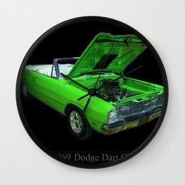 1969 Dodge Dart GT Wall Clock