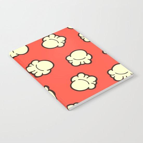 Popcorn Pattern Notebook