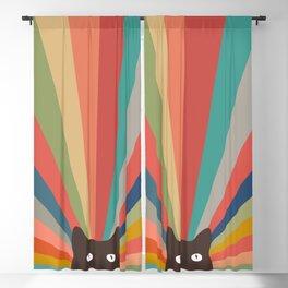 Cat Landscape 48 Blackout Curtain
