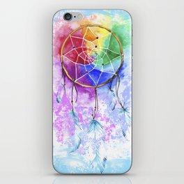 "dreamcatcher ""heavenly dream"" iPhone Skin"