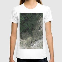 Emerald Sea Painting T-shirt