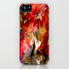 Abstract flower Slim Case iPhone (5, 5s)