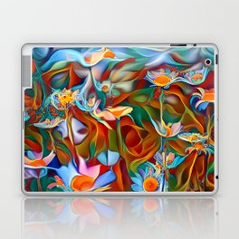 Psychedelic Daises Laptop & iPad Skin