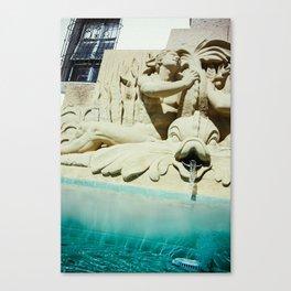 Spirit of the Ocean Fountain Canvas Print