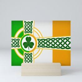Celtic Irish Flag Mini Art Print