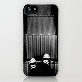 Up The Down Escalator iPhone Case