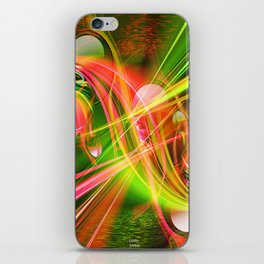 The wise man forgives noiselessly!! iPhone Skin