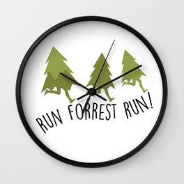 Forrest Gump Wall Clock