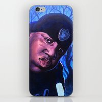 notorious iPhone & iPod Skins featuring Notorious by JRAC