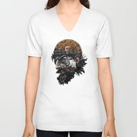 pirate ship V-neck T-shirts featuring Pirate by Kiptoe