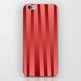 Red gradient iPhone Skin