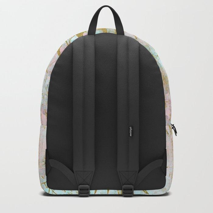 Golden Sun elegant vintage pattern Backpack