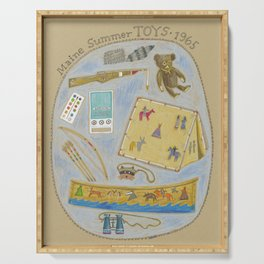 Maine Toys 1965 Serving Tray