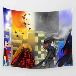 Seasons of Tyme Wall Tapestry