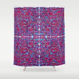 jewelled cross Shower Curtain