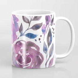 Dreamy Watercolor Flowers Coffee Mug