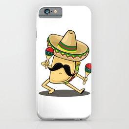 Cinco De Mayo -  Taco Dancing Sombrero Maracas iPhone Case