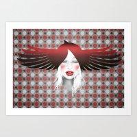 MonGhostX - Close, Fly. Dreams... of a free world ! Peace. Art Print