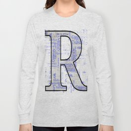 """Proud to be """"R"""" Long Sleeve T-shirt"""