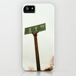 ILY SIGN iPhone Case