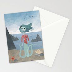 Sea Maiden Stationery Cards