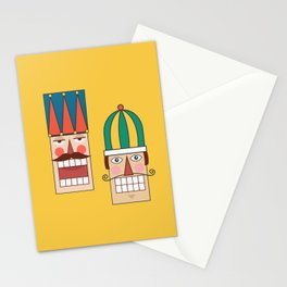 Nut Crackin' Army (Patterns Please) Stationery Cards