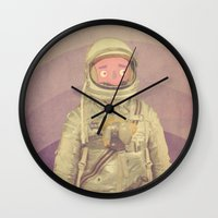 explore Wall Clocks featuring Explore by Pope Saint Victor