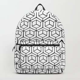 Hand Drawn Hypercube Backpack