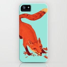 Fox Hunting  iPhone Case