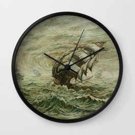 The Fleet Wall Clock