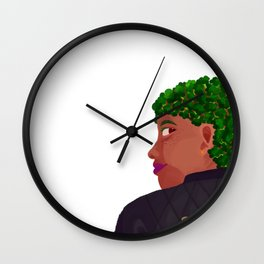 broccoli Wall Clock
