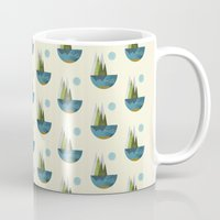 earth Mugs featuring Earth by FLATOWL