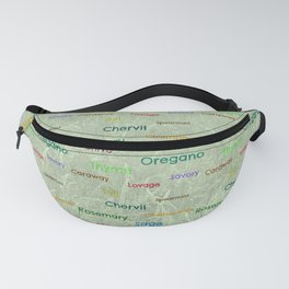 Herbs Fanny Pack