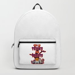 Spooky Dogs Will do Tricks for Treats Backpack