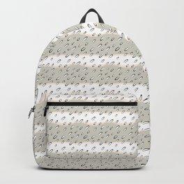 winter landscape sepia Backpack