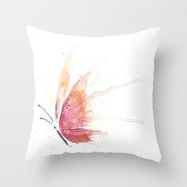 Spirit of Summer Butterfly Throw Pillow