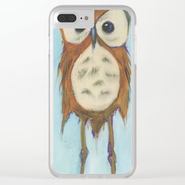 Mr. Knobby Knees Clear iPhone Case