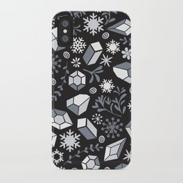 Winter diamonds iPhone Case