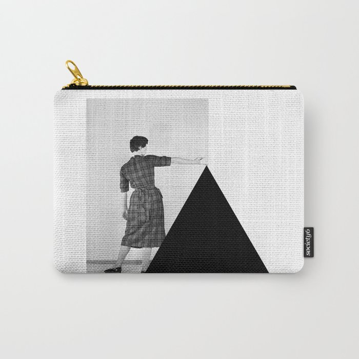 Be my Triangle Carry-All Pouch