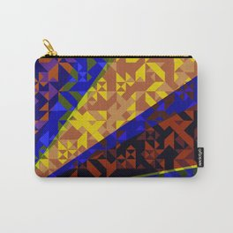 Aztec Geometric Beam Carry-All Pouch