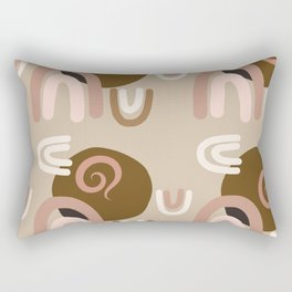 Abstract Desert Southwest Series - Painted Arches Rectangular Pillow