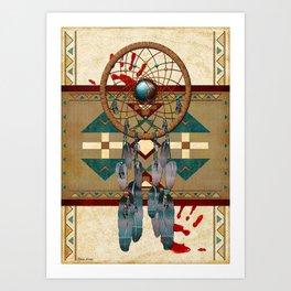 Catching Spirit Native American Art Print