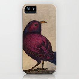 Fuchsia Bird iPhone Case