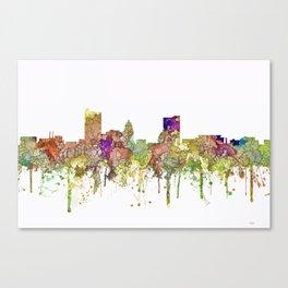 Fort Wayne, Indiana Skyline Canvas Print