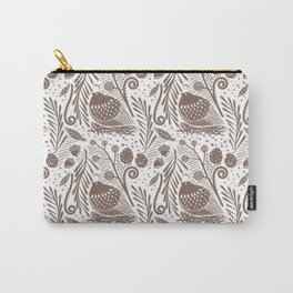 California Quail (Cocoa) Carry-All Pouch