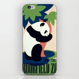 Vintage poster - Brookfield Zoo iPhone Skin