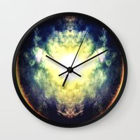 halo Wall Clocks featuring HALO by Chrisb Marquez
