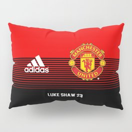 Luke Shaw - Manchester United Home 2018/19 Pillow Sham
