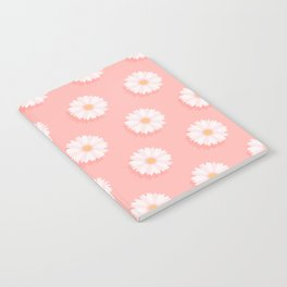 Pink Daisies  Notebook
