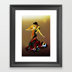 DANCERS - La Fiesta Framed Art Print